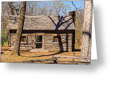 Old Cabin Greeting Card