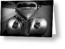 Old Calssic Car Greeting Card