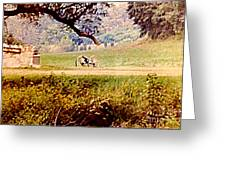 Old Cannon At Gettysburg Greeting Card