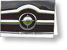 Old Car Grille Greeting Card