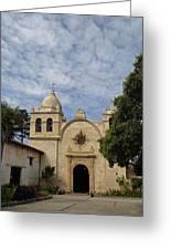 Old Carmel Mission Greeting Card