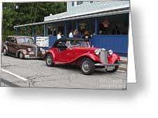 Old Cars Greeting Card