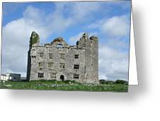 Old Castle In Ireland Greeting Card