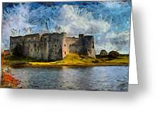 Old Castle Greeting Card