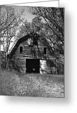 Old Cedar Barn Greeting Card