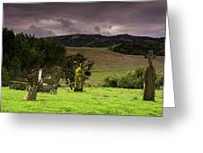Old Cementery Greeting Card