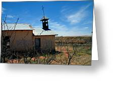 Old Chapel On Route 66 In Newkirk Nm Greeting Card