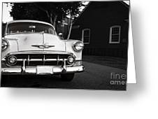 Old Chevy Connecticut Greeting Card