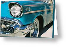 Old Chevy Greeting Card by Steve Karol