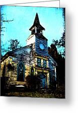 Old Church At Oxford Maryland Greeting Card