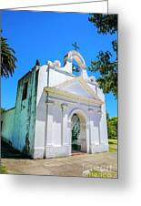 Old Church Colonia Greeting Card