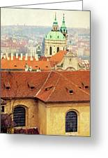 Old Church In Prague Greeting Card