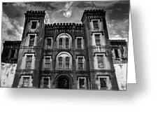Old City Jail Greeting Card