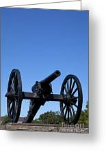 Old Civil War Cannon Greeting Card