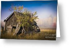 Old Coal Miner's Shack Greeting Card