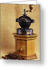 Old Coffee Grinder Greeting Card by Falko Follert