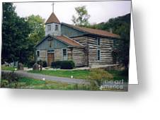 Old Country Church  Greeting Card
