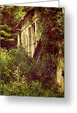 Old Country Schoolhouse. Greeting Card