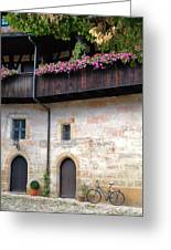 Old Court - Bamberg  Greeting Card
