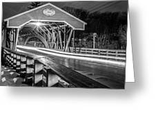 Old Covered Bridge  Greeting Card