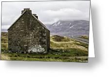 Old Croft Cottage Greeting Card