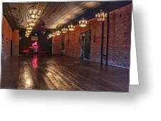 Old Dance Hall Greeting Card