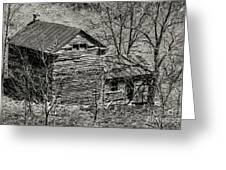 Old Deserted Farmhouse 3 Greeting Card