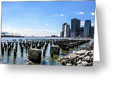 Old Docks Greeting Card