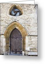 Old Door And Window York Greeting Card