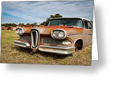 Old Edsel Greeting Card
