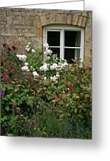 Old English Garden Greeting Card