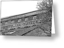 Old Factory Greeting Card
