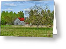 Old Farm House In Langley Greeting Card