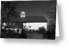 Old Farm House Greeting Card