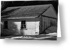 Old Farm Shed Greeting Card
