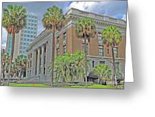 Old Federal Building Greeting Card
