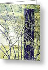 Old Fence Post Greeting Card