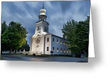 Old First Church Of Bennington Greeting Card