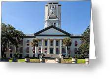 Old Florida Capitol Greeting Card by Frank Feliciano
