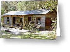 Old Florida Home Greeting Card