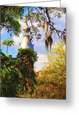 Old Florida Greeting Card