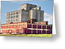 Old Flour Mill Greeting Card