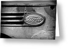 Old Ford 85 Greeting Card