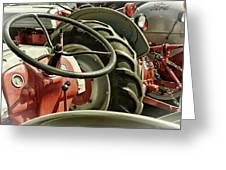 Old Ford Tractors Greeting Card