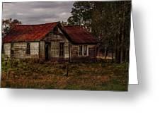 Old Forgotten Farmstead Greeting Card