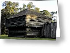 Old Fort Foster Greeting Card