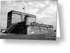 Old Fort Matanzas Greeting Card