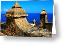 Old Fort Puerto Rico Greeting Card
