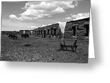 Old Fort Union Greeting Card