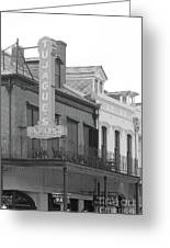 Old French Quarter Restaurant  Greeting Card
